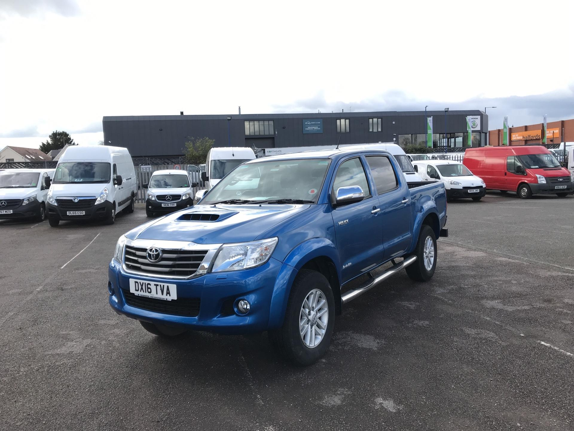 2016 Toyota Hilux  D/CAB PICK-UP 3.0 4WD 171 INVINCIBLE EURO 5 (DX16TVA) Image 7