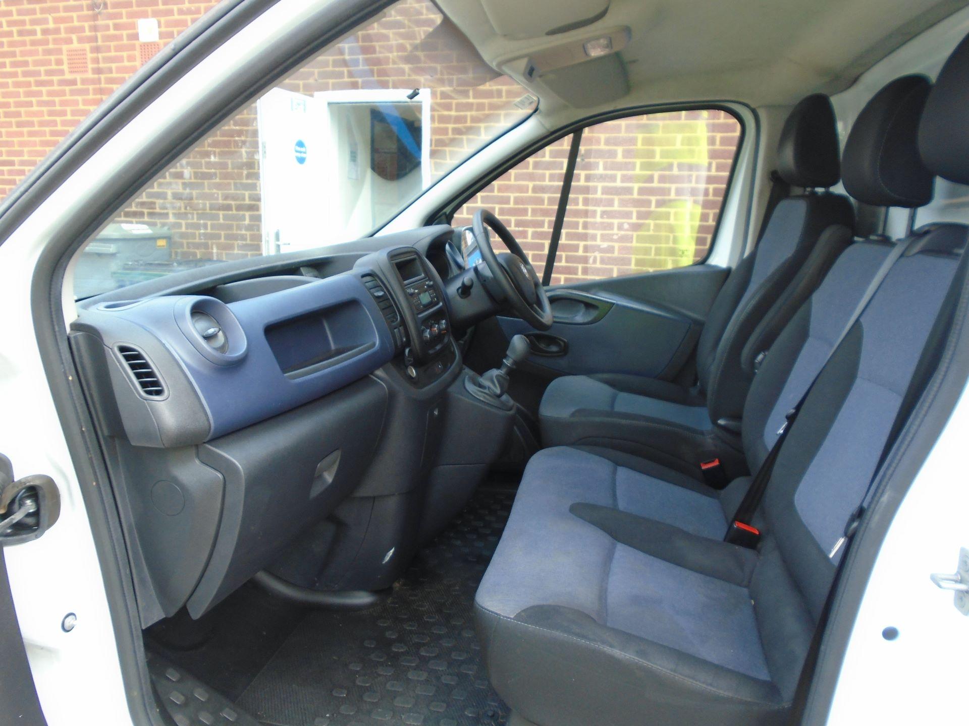 2016 Vauxhall Vivaro 2900 1.6Cdti 115Ps H1 Van EURO 5 (DX16XYT) Image 18