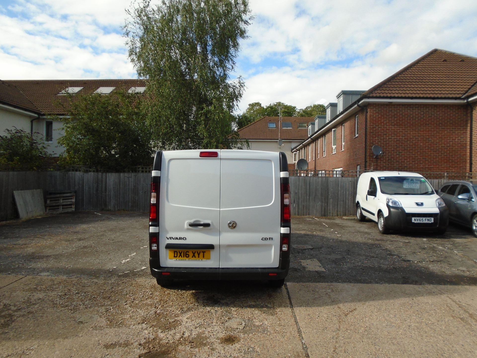 2016 Vauxhall Vivaro 2900 1.6Cdti 115Ps H1 Van EURO 5 (DX16XYT) Image 5