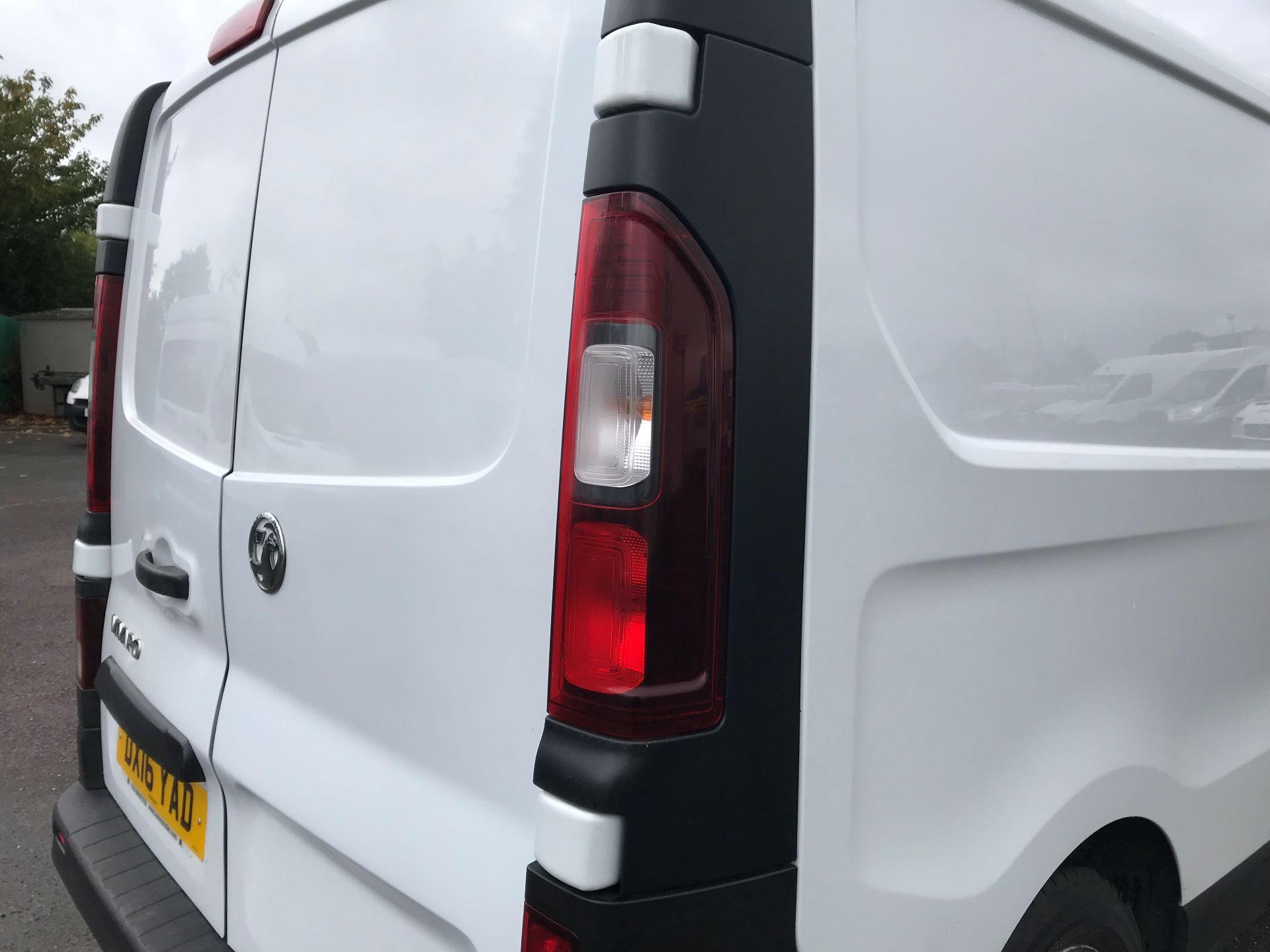 2016 Vauxhall Vivaro   L2 H1 2900 1.6 115PS EURO 5 (DX16YAD) Image 13