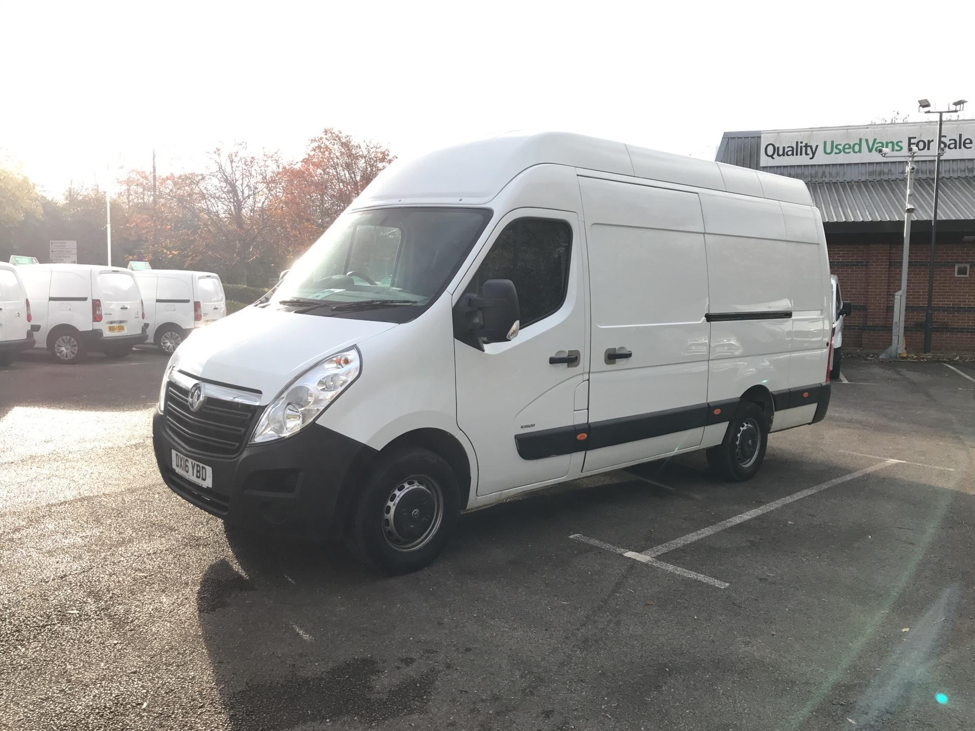 2016 Vauxhall Movano 35 L3 H3 125PS EURO 5 *Value Range Van Condition Reflected in Price* (DX16YBD) Image 7