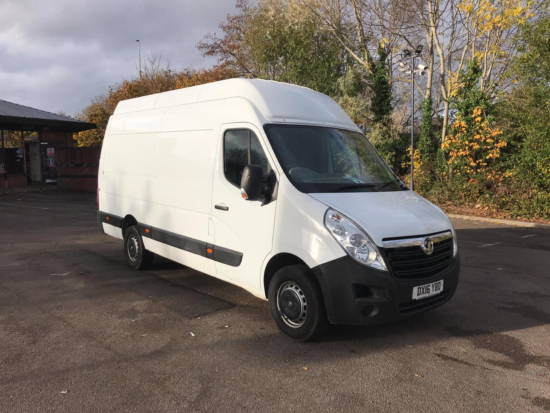 2016 Vauxhall Movano 35 L3 H3 125PS EURO 5 *Value Range Van Condition Reflected in Price* (DX16YBD)