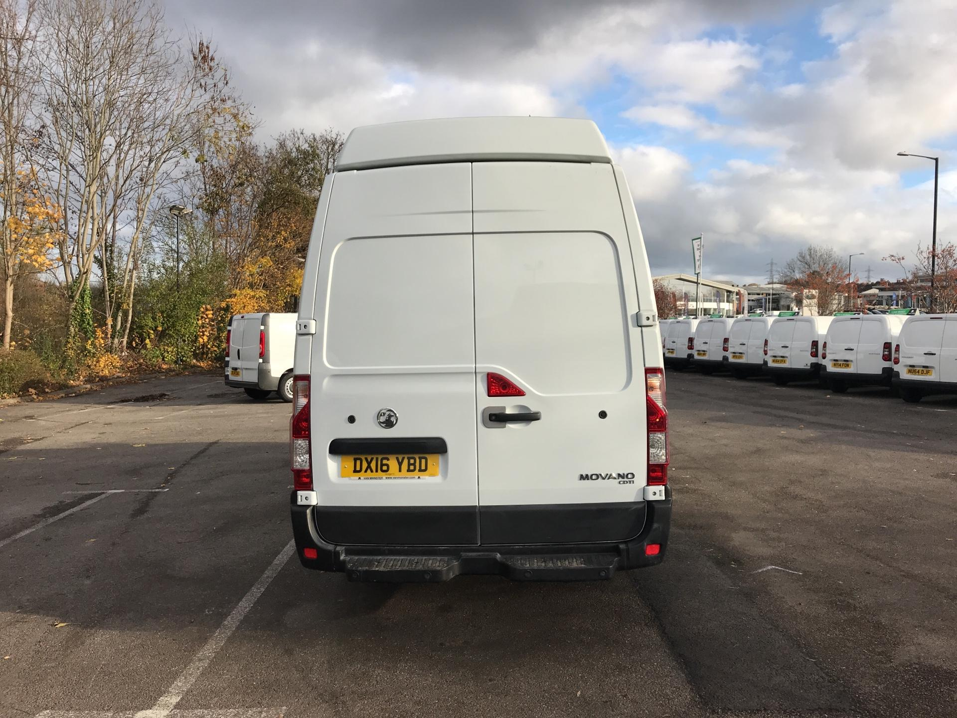 2016 Vauxhall Movano 35 L3 H3 125PS EURO 5 *Value Range Van Condition Reflected in Price* (DX16YBD) Image 4