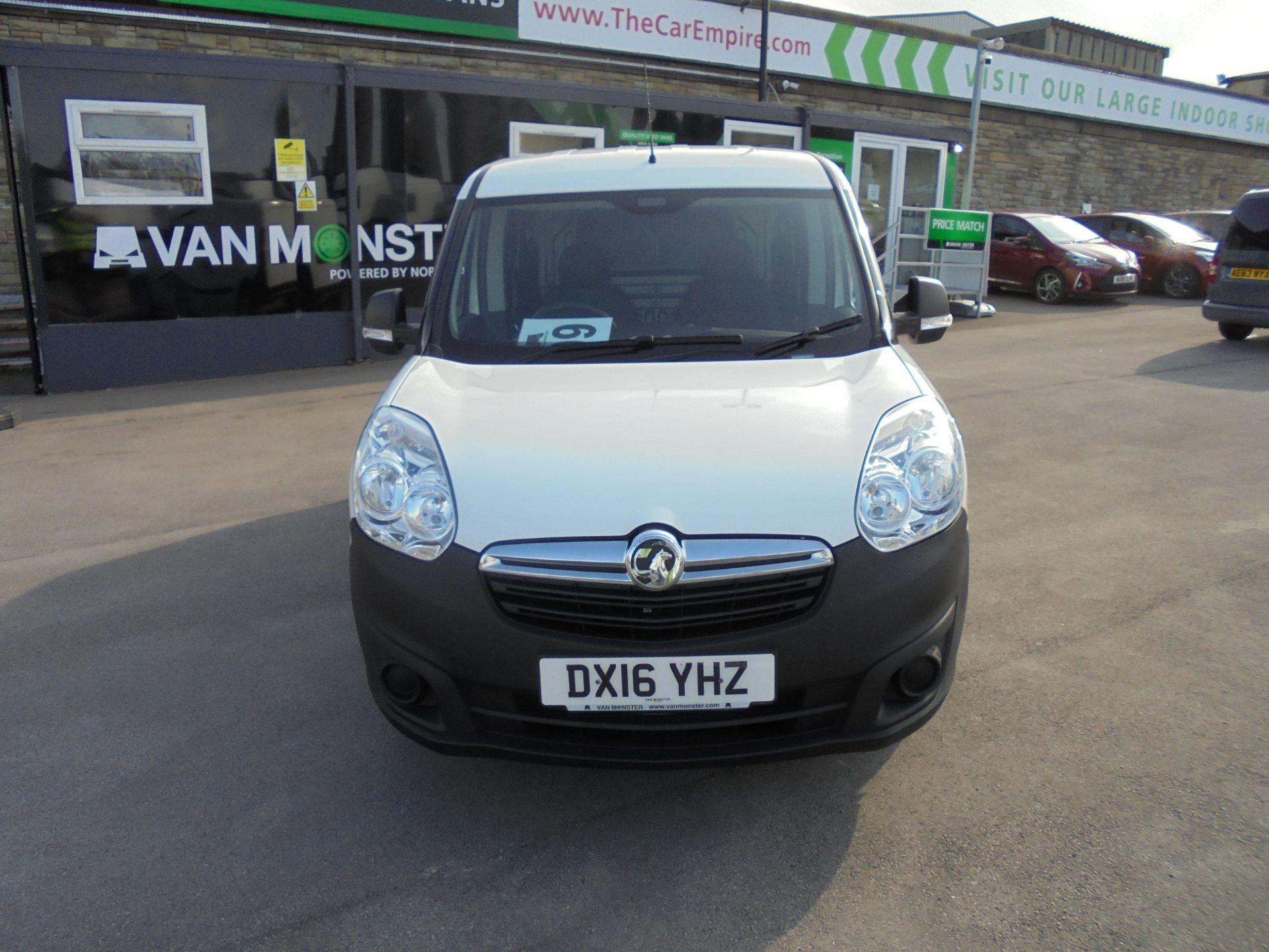 2016 Vauxhall Combo 2000 1.3 Cdti 16V H1 Van (DX16YHZ) Image 2
