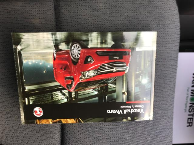 2017 Vauxhall Vivaro L2 H1 2900 1.6CDTI 120PS  EURO 6 Limited to 68 MPH (DX17VUK) Image 40