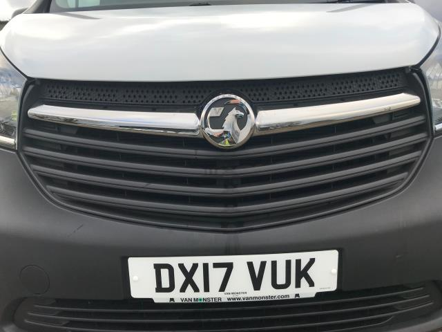 2017 Vauxhall Vivaro L2 H1 2900 1.6CDTI 120PS  EURO 6 Limited to 68 MPH (DX17VUK) Image 33