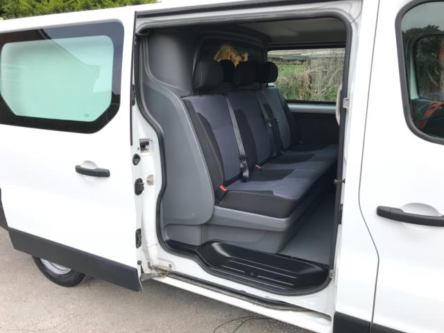 2017 Vauxhall Vivaro 2900 1.6Cdti 120Ps H1 Doublecab (DX17VXD) Image 34