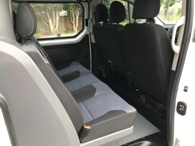 2017 Vauxhall Vivaro 2900 1.6Cdti 120Ps H1 Doublecab (DX17VXD) Image 36