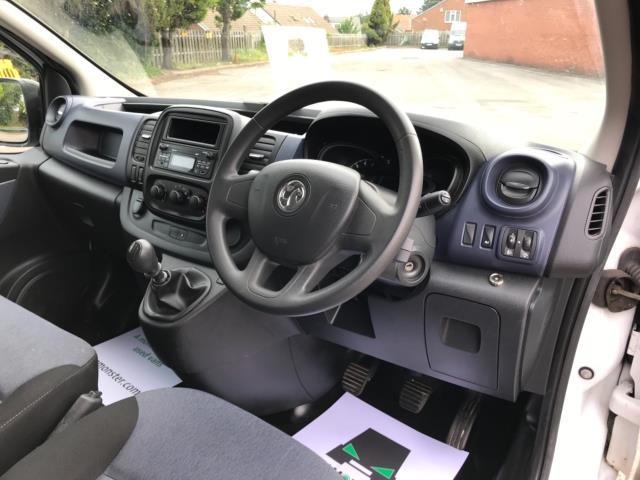 2017 Vauxhall Vivaro 2900 1.6Cdti 120Ps H1 Doublecab (DX17VXD) Image 11