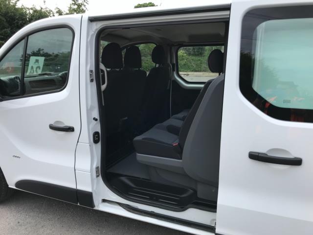 2017 Vauxhall Vivaro 2900 1.6Cdti 120Ps H1 Doublecab (DX17VXD) Image 28