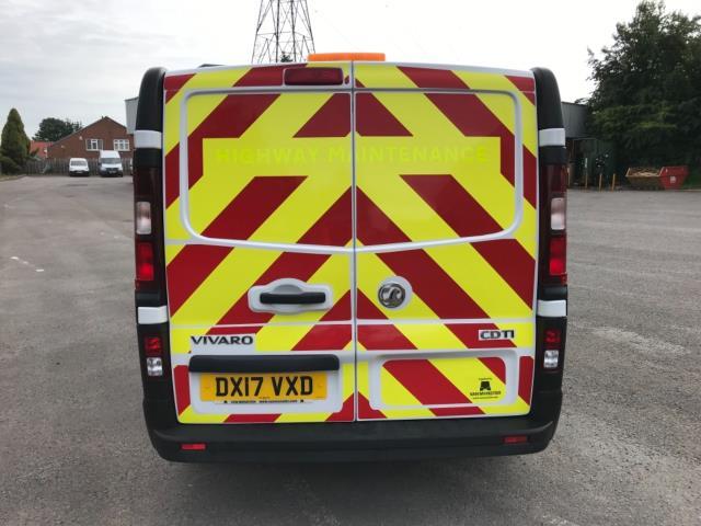2017 Vauxhall Vivaro 2900 1.6Cdti 120Ps H1 Doublecab (DX17VXD) Image 6