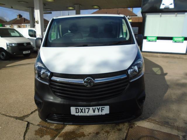 2017 Vauxhall Vivaro 2900 1.6Cdti 120Ps H1 Van (DX17VYF) Image 2