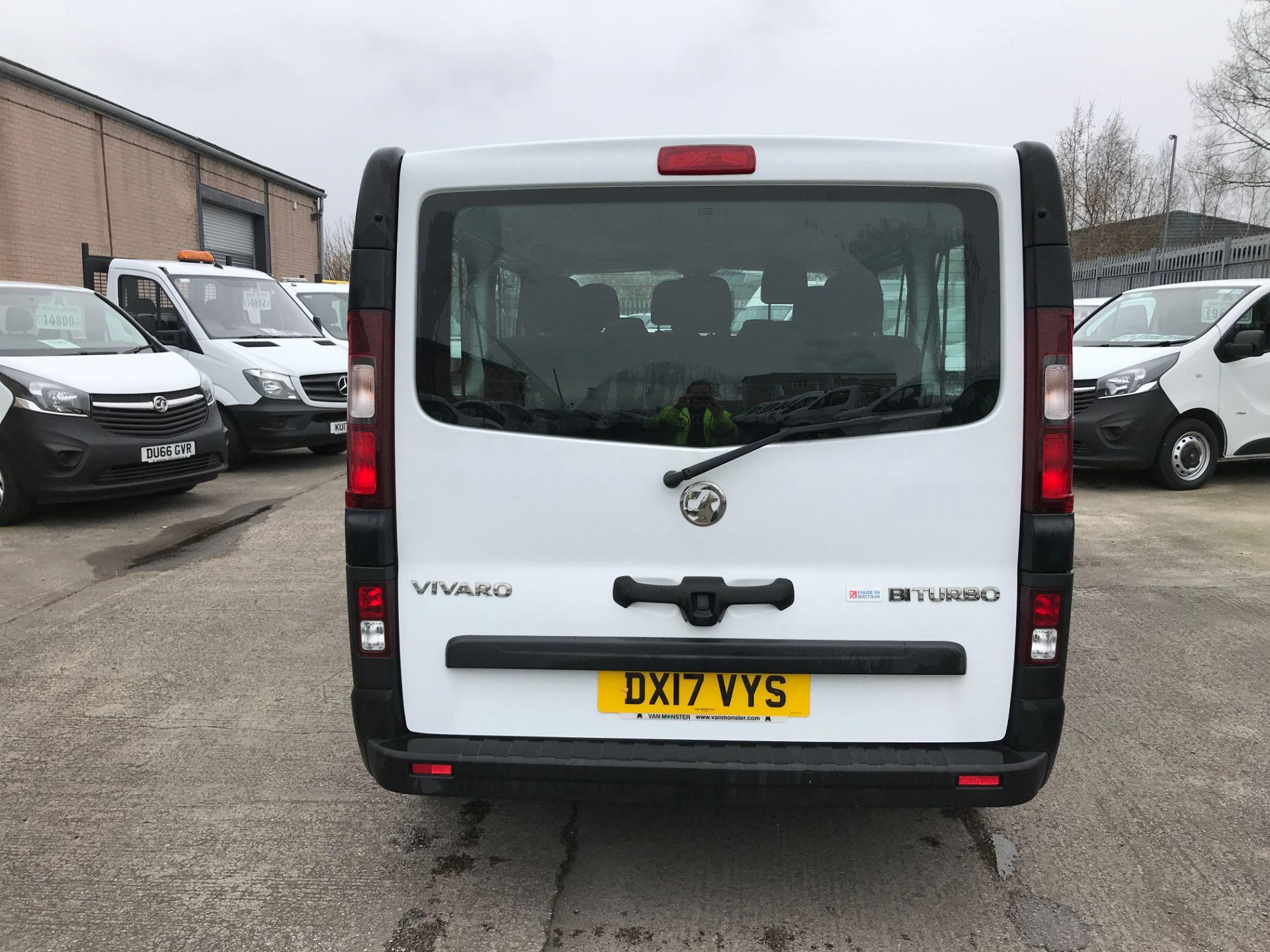 2017 Vauxhall Vivaro 2900 L2 H1 1.6BITURBO 125PS ECOFLEX 9 SEAT EURO 6 (DX17VYS) Image 9