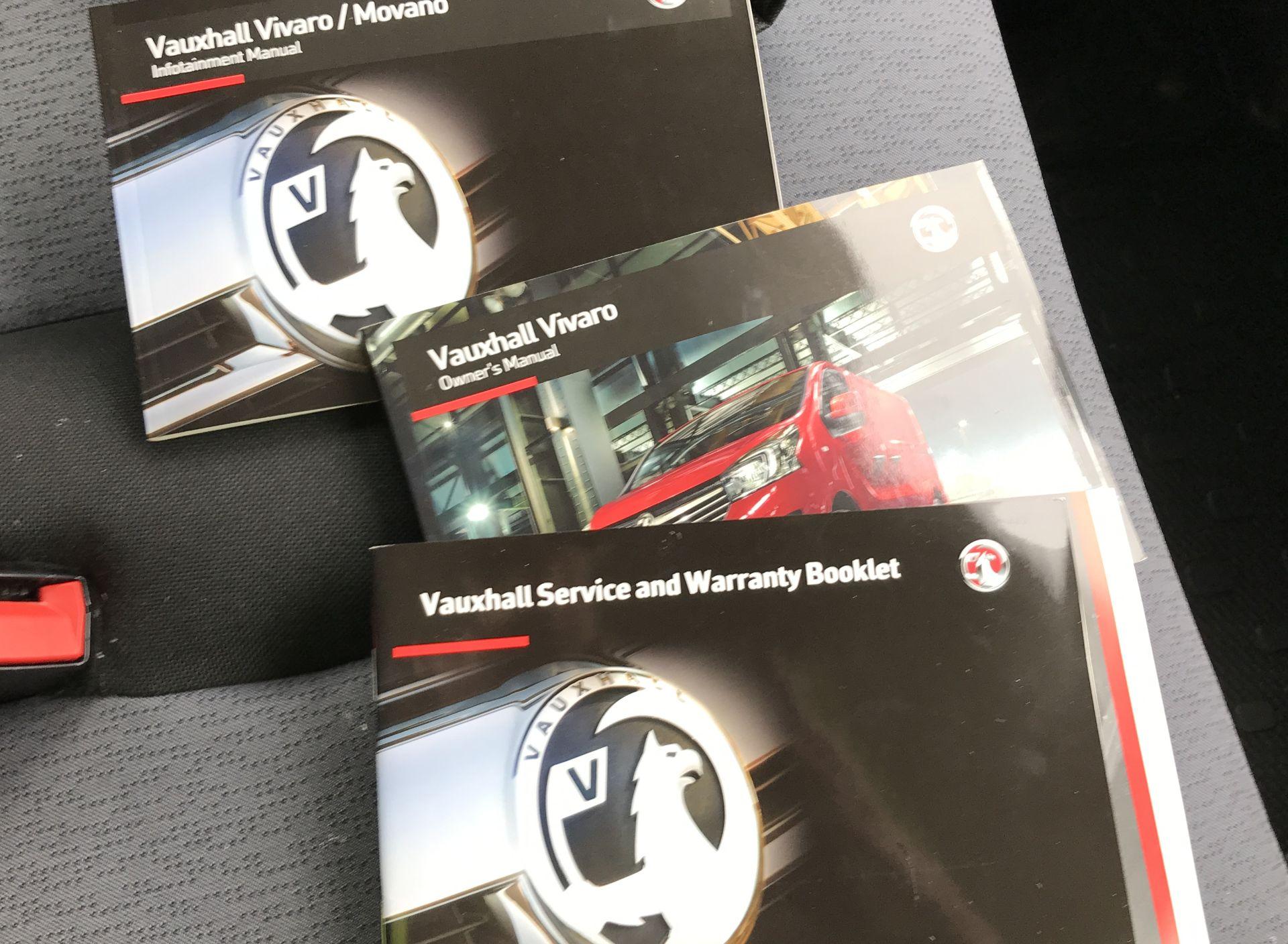 2017 Vauxhall Vivaro 2900 L2 H1 1.6BITURBO 125PS ECOFLEX 9 SEAT EURO 6 (DX17VYS) Image 28