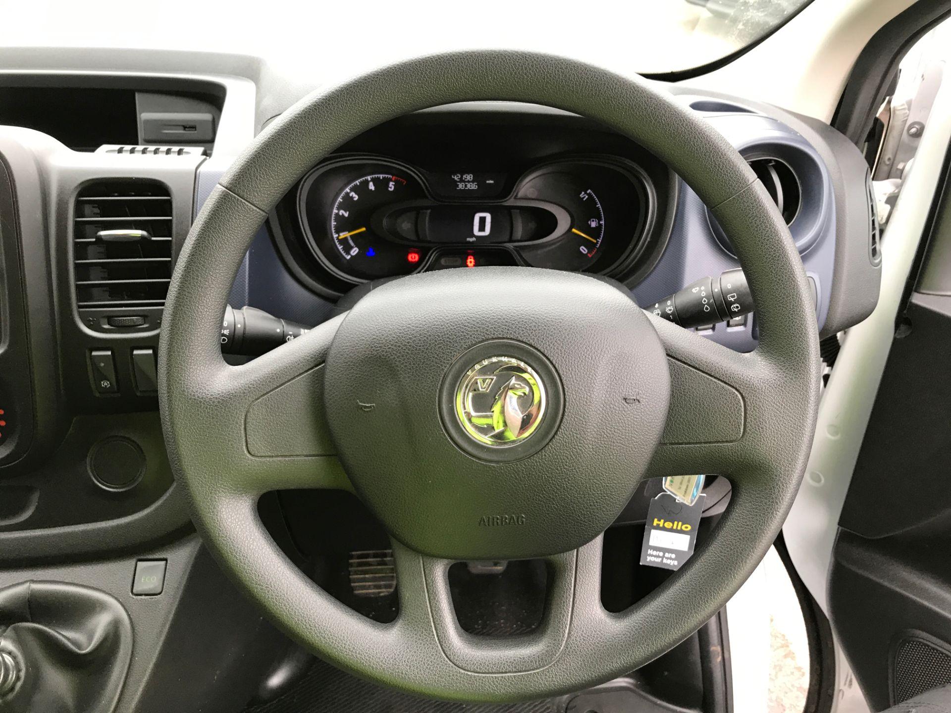 2017 Vauxhall Vivaro 2900 L2 H1 1.6BITURBO 125PS ECOFLEX 9 SEAT EURO 6 (DX17VYS) Image 5