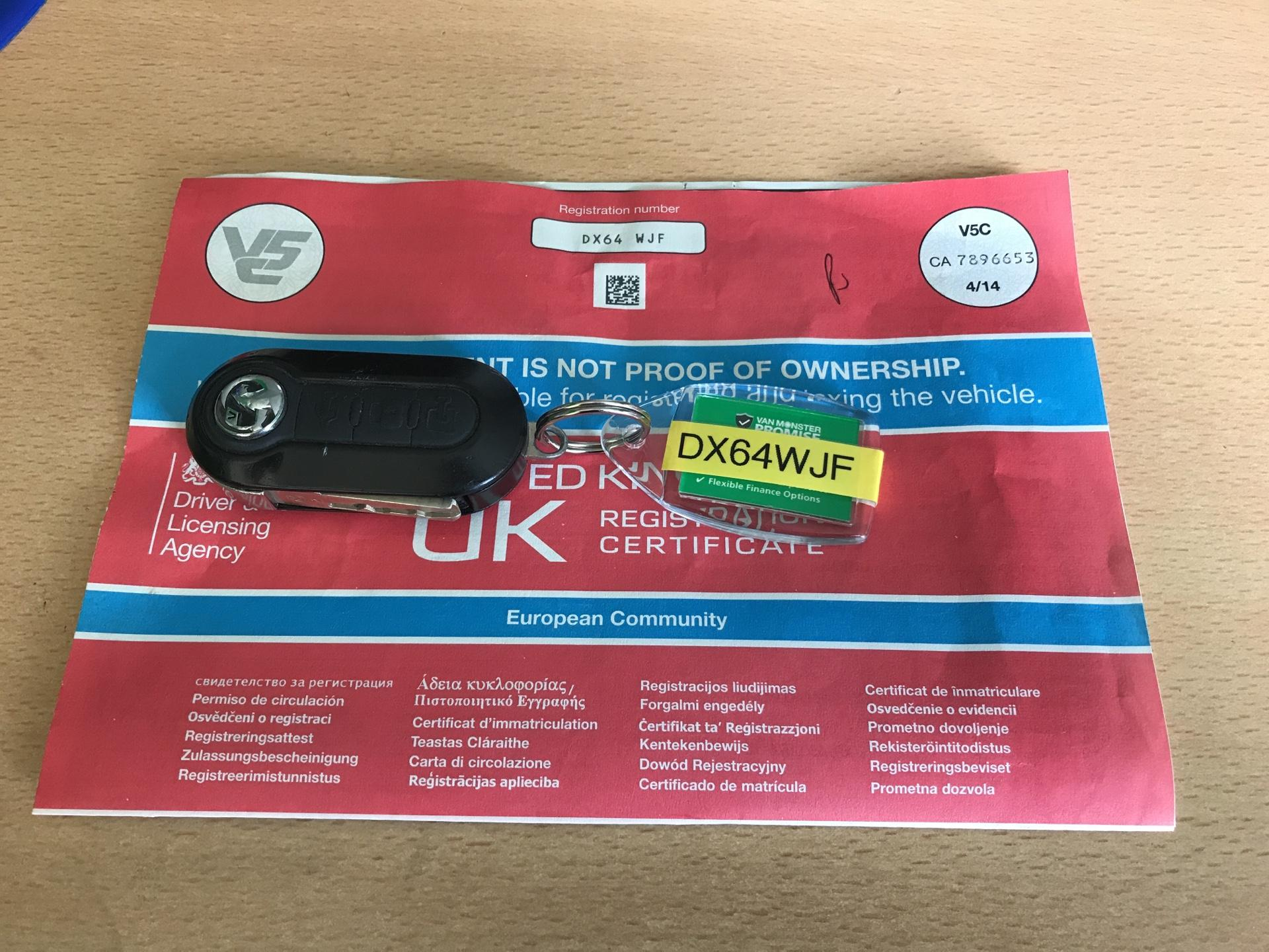 2014 Vauxhall Combo  L1 H1 2000 1.3 16V SPORTIVE EURO 5 AIR CON (DX64WJF) Image 21
