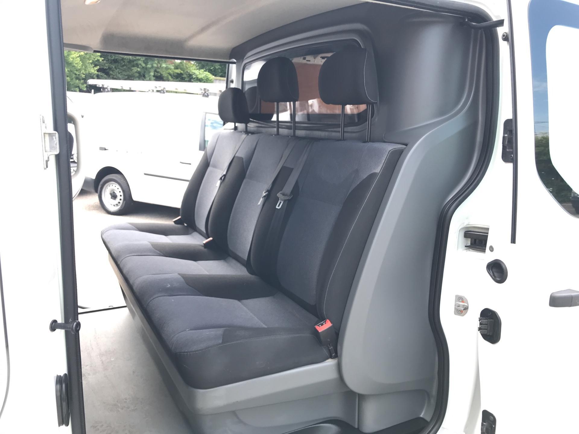 2015 Vauxhall Vivaro 2900 1.6Cdti 115Ps H1 Doublecab Euro 5 (DX65UAM) Image 18