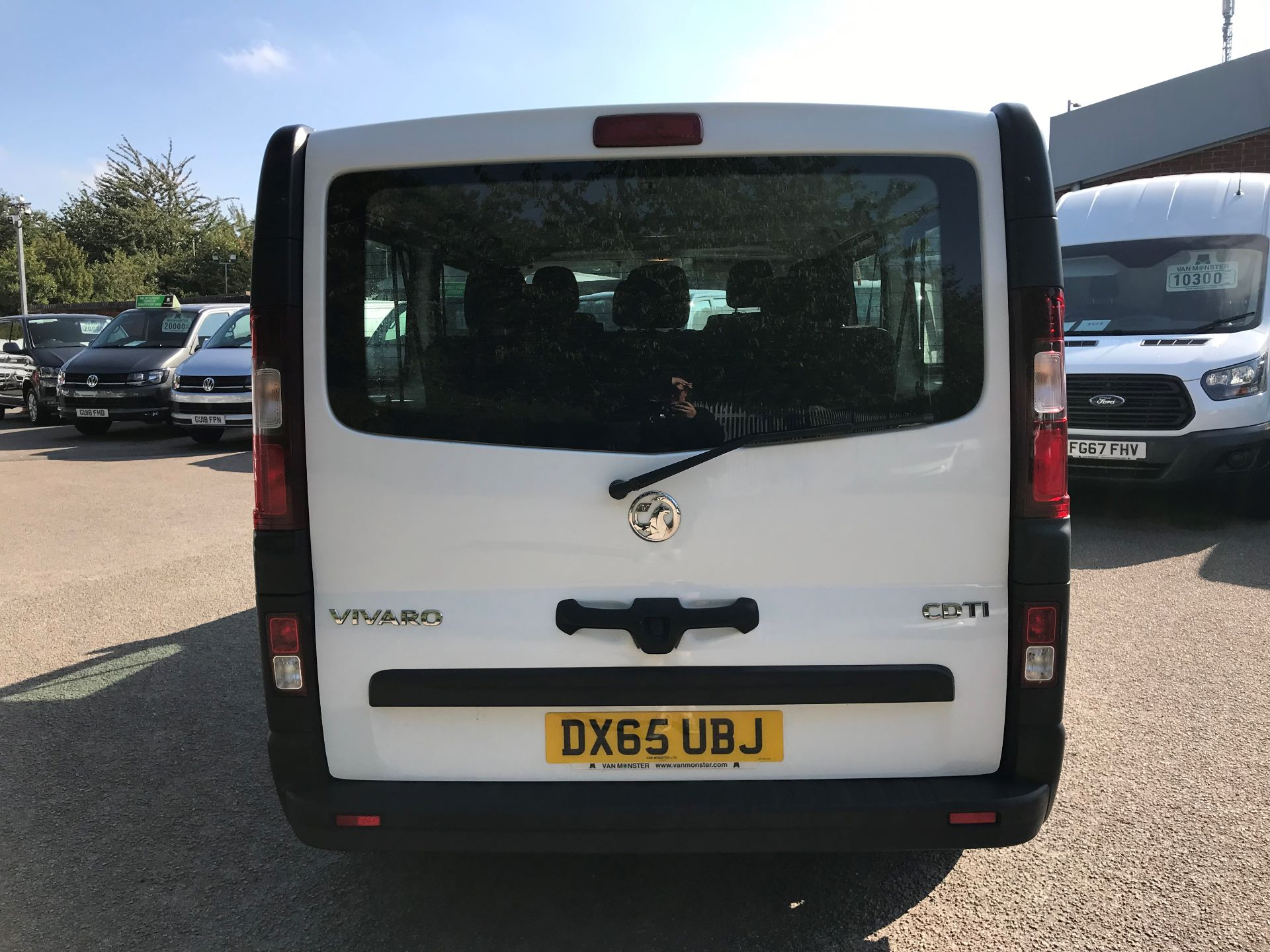 2015 Vauxhall Vivaro  L2 H1 2900 1.6 115PS COMBI 9 SEAT EURO 5 (DX65UBJ) Image 13