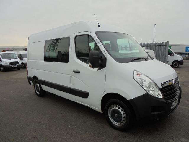 2015 Vauxhall Movano 2.3 Cdti H2 D/Cab Van 125Ps *VALUE RANGE VEHICLE - CONDITION REFLECTED IN PRICE* (DX65UHJ)