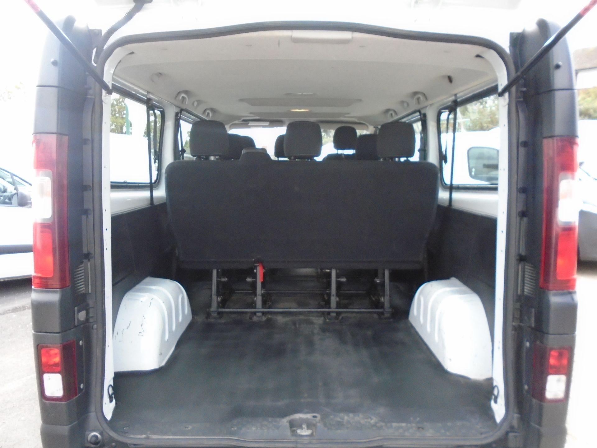 2015 Vauxhall Vivaro 2900 1.6Cdti 115Ps H1 Combi 9 Seat (DX65WTV) Image 11