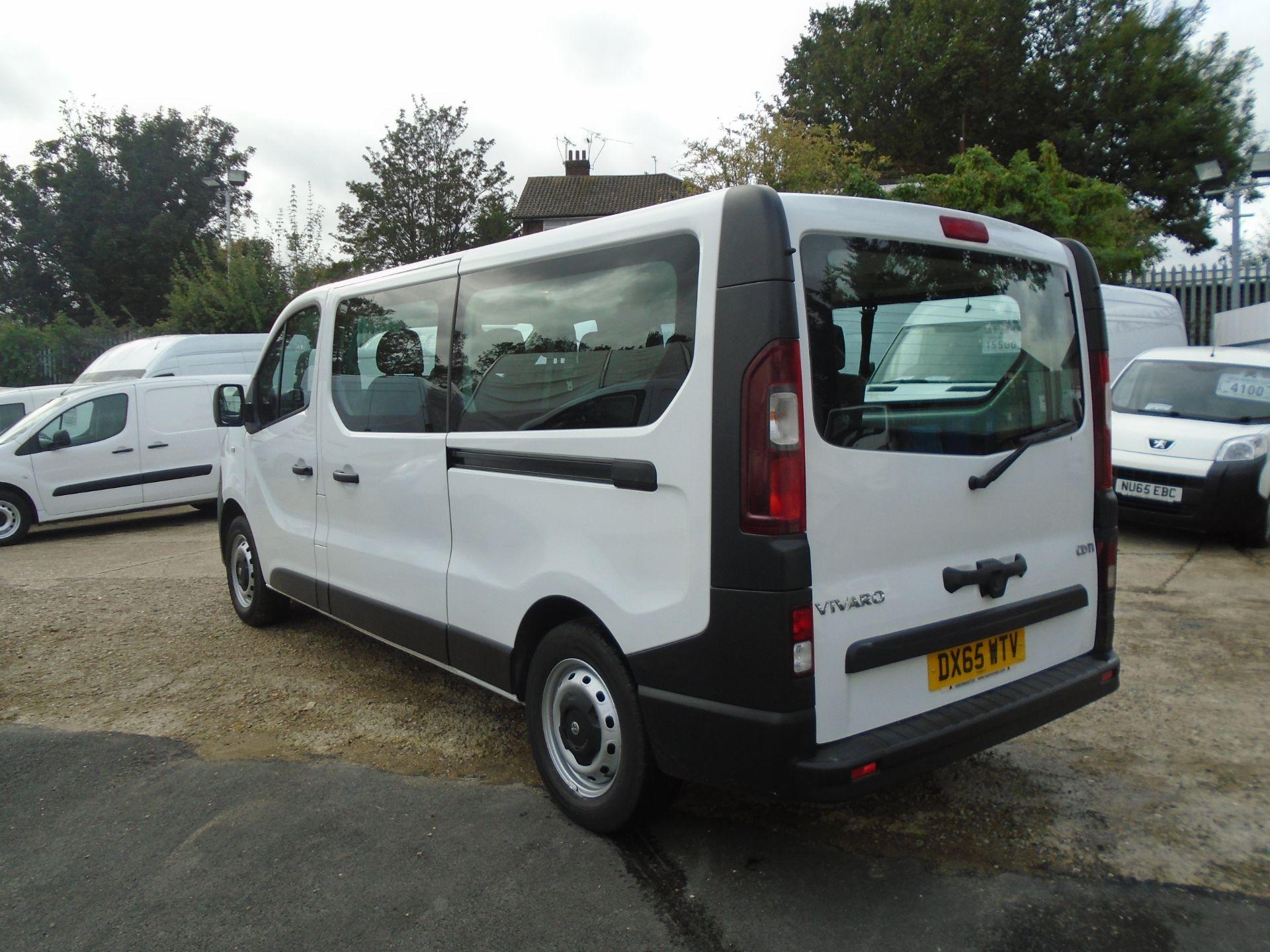 2015 Vauxhall Vivaro 2900 1.6Cdti 115Ps H1 Combi 9 Seat (DX65WTV) Image 4