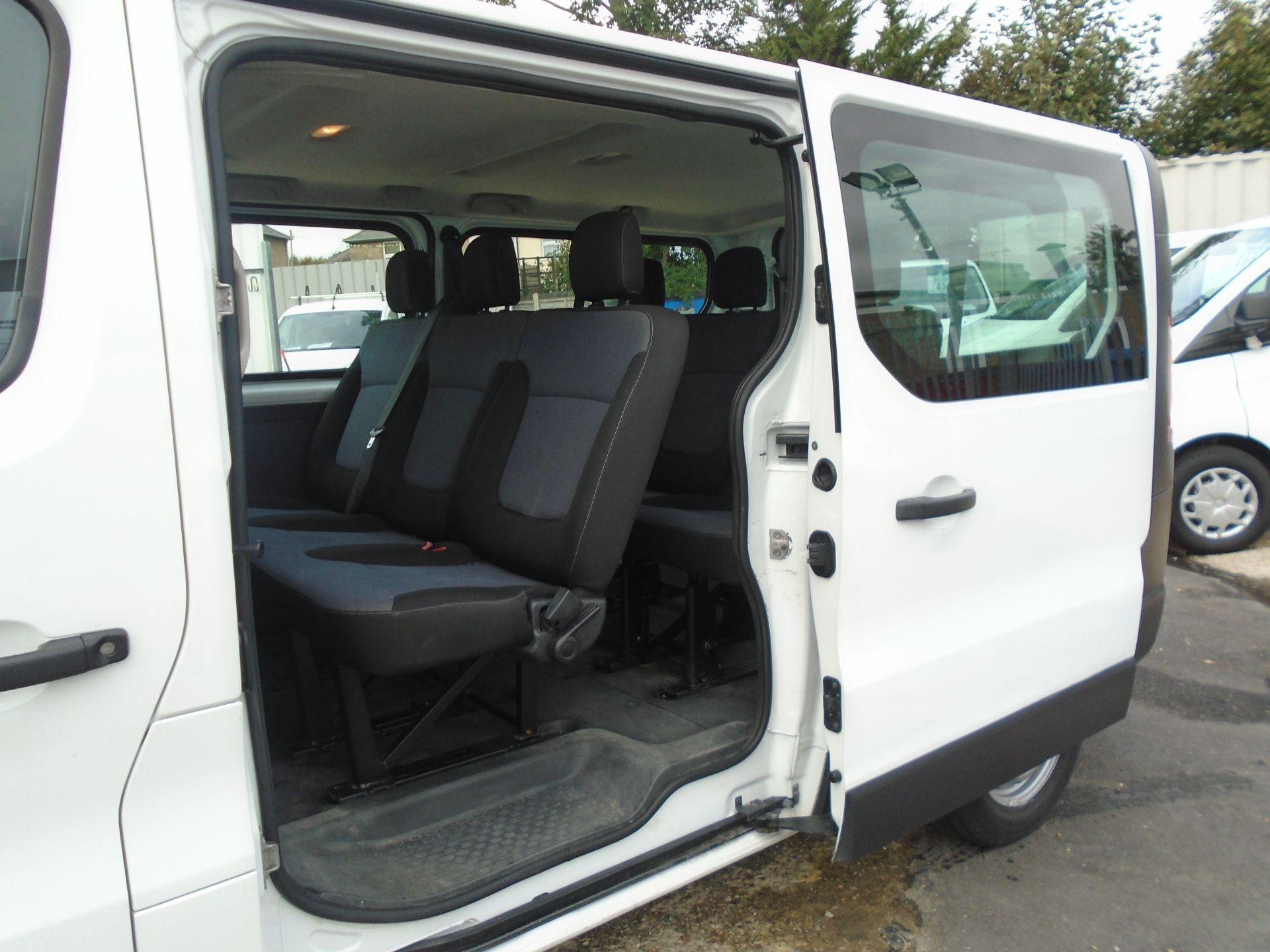 2015 Vauxhall Vivaro 2900 1.6Cdti 115Ps H1 Combi 9 Seat (DX65WTV) Image 13