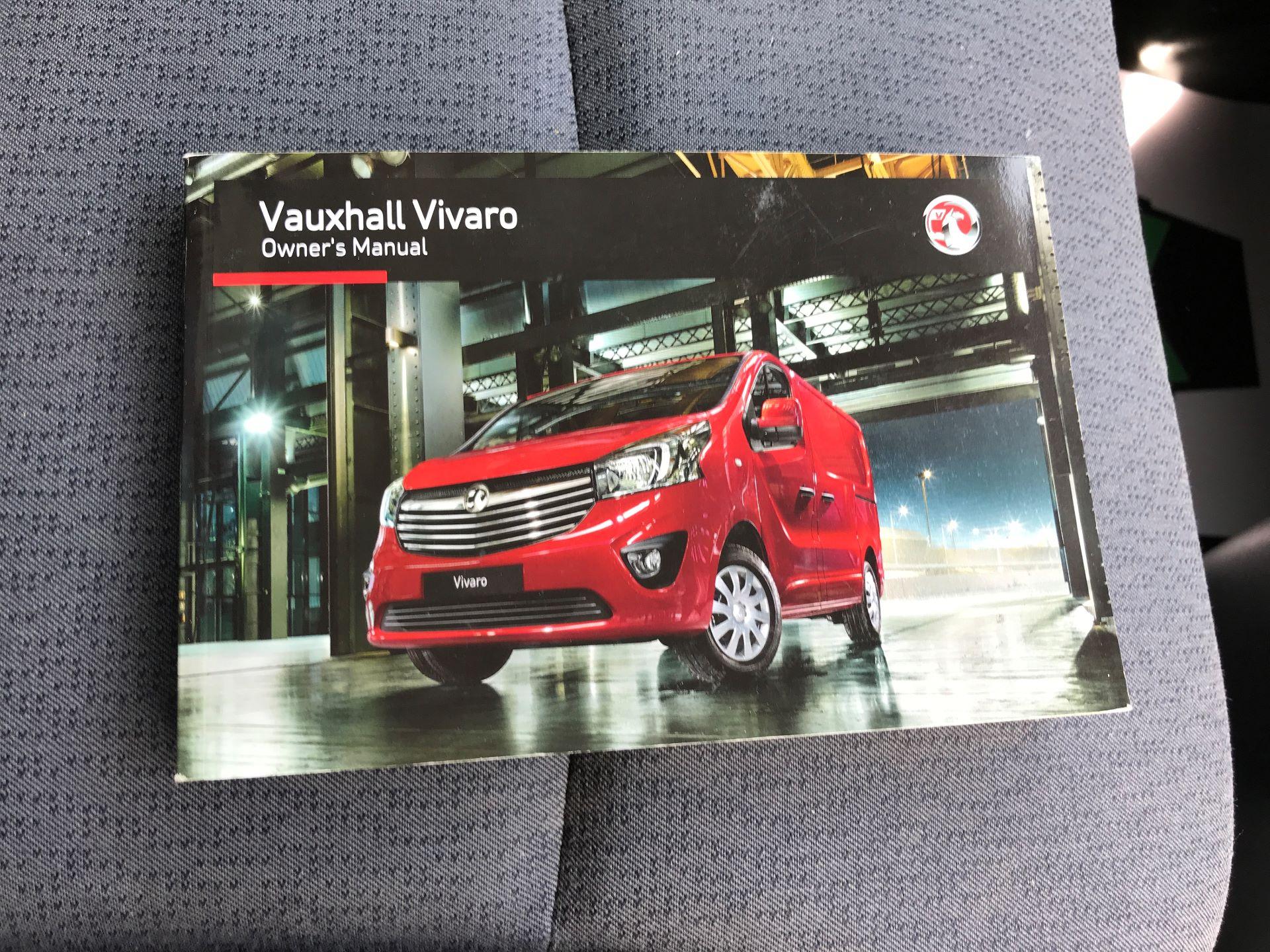 2015 Vauxhall Vivaro 2900 L2 H1 1.6CDTI 115PS (DX65WVZ) Image 17