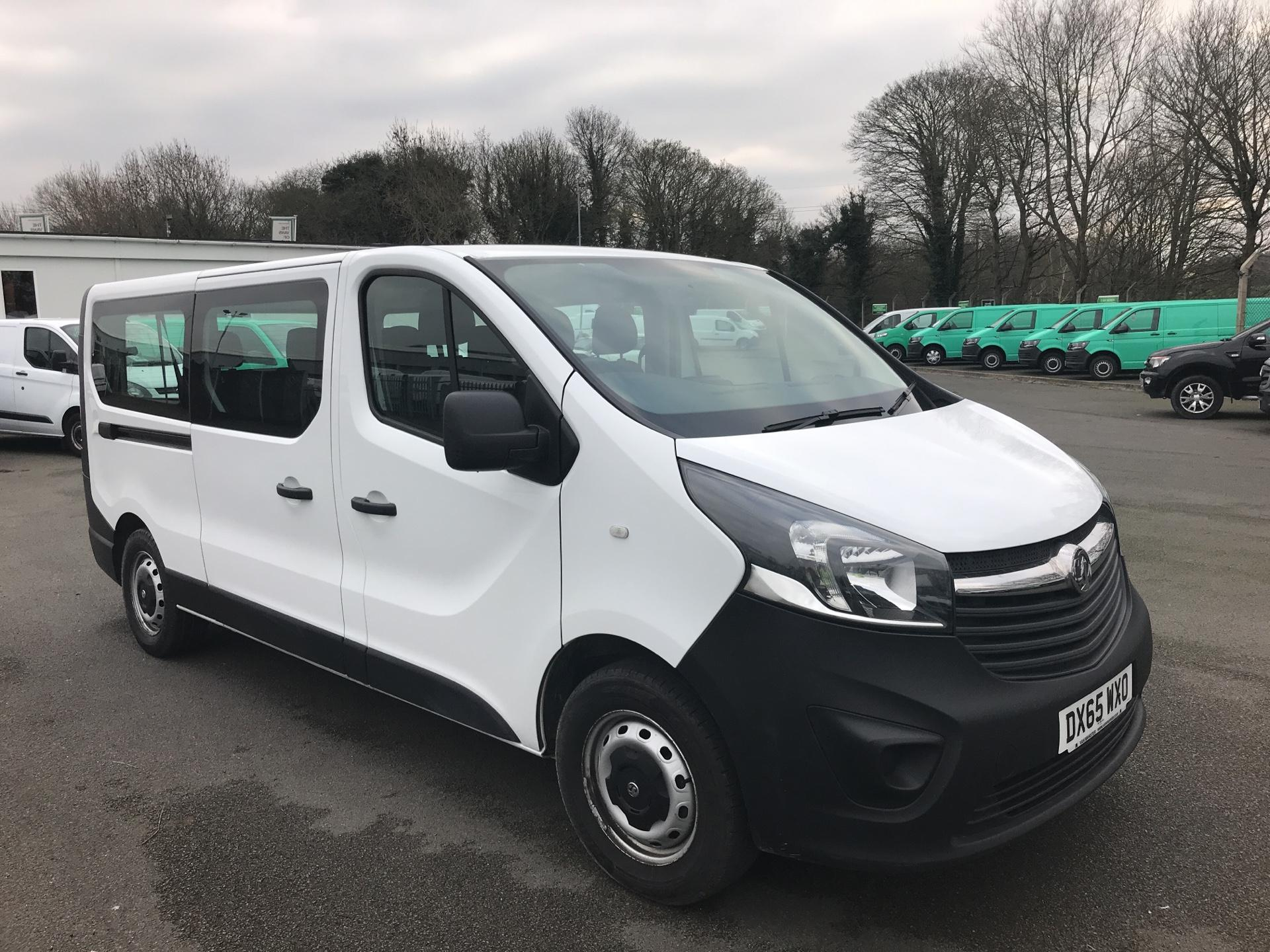2015 Vauxhall Vivaro  L2 H1 2900 1.6 115PS COMBI 9 SEAT EURO 5 *VALUE RANGE VEHICLE - CONDITION REFLECTED IN PRICE* (DX65WXO)