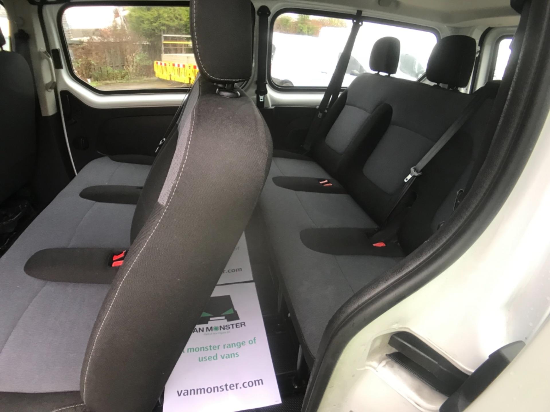 2017 Vauxhall Vivaro 2900 1.6Cdti Biturbo 125Ps H1 Combi 9 Seat Euro 6 (DY17UGF) Image 22