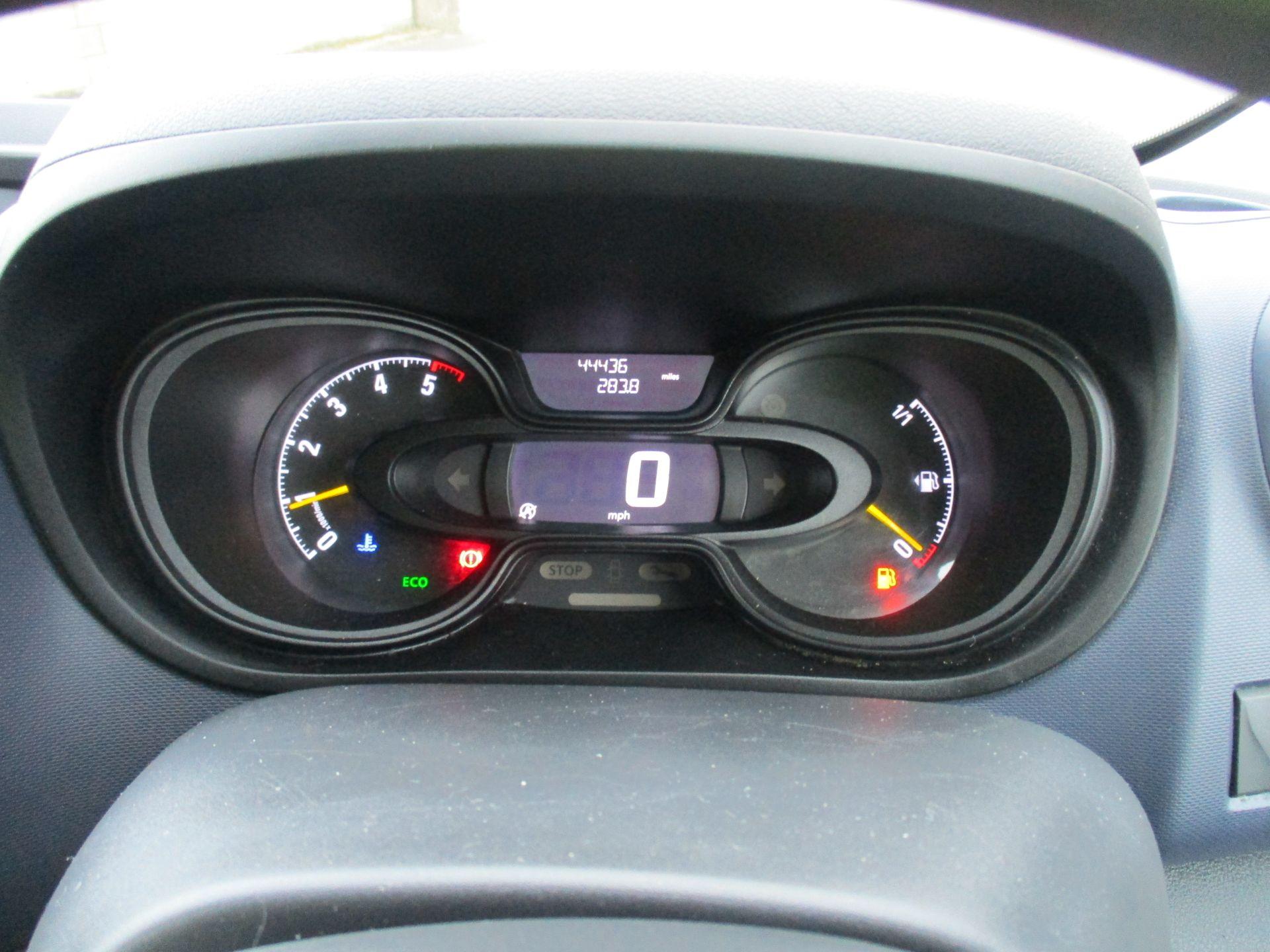 2017 Vauxhall Vivaro L2 H1 2900 1.6 CDTI 125PS BI TURBO 9 SEATER COMBI EURO 6. VAT INC (DY17UJE) Image 18