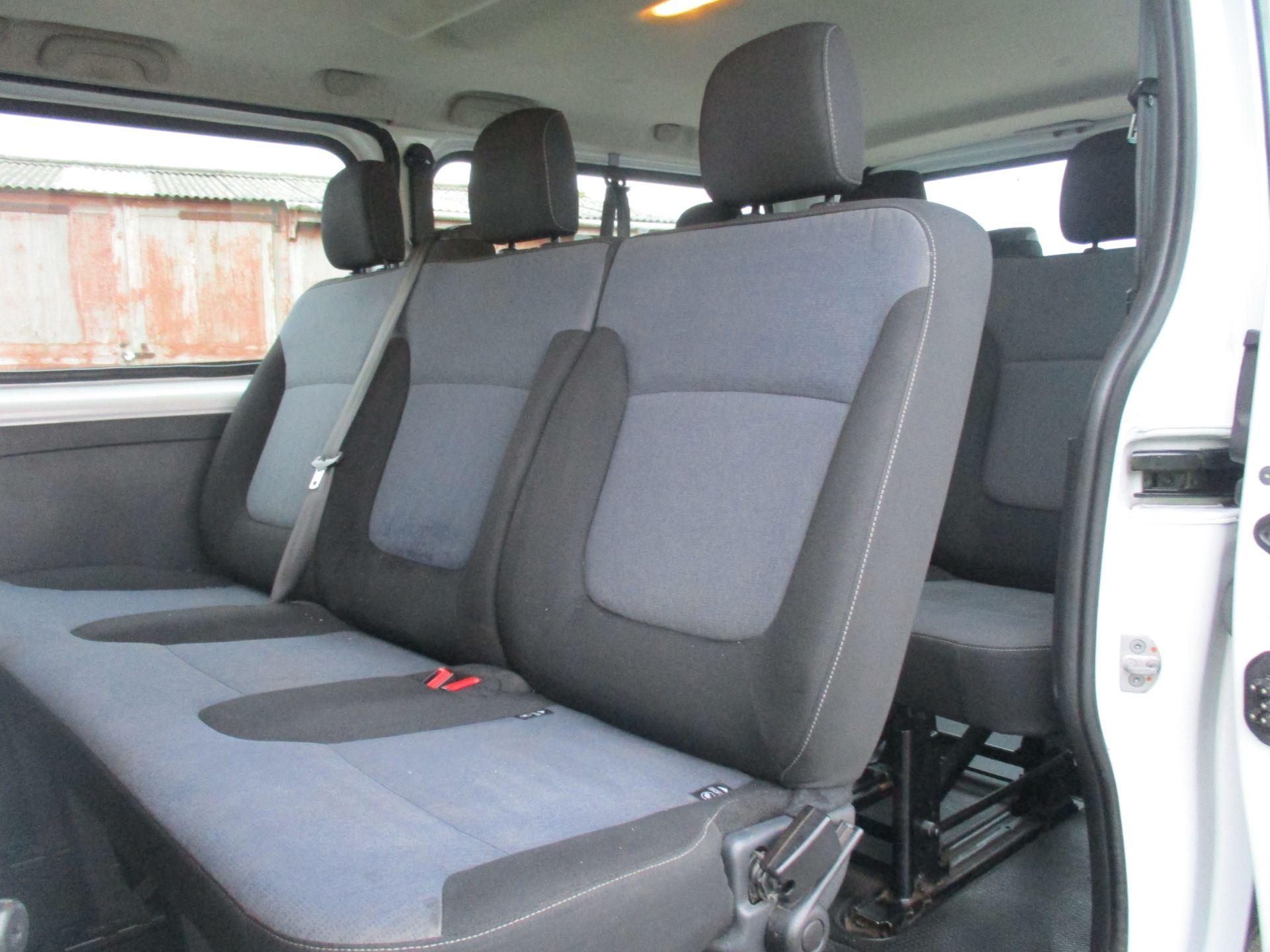 2017 Vauxhall Vivaro L2 H1 2900 1.6 CDTI 125PS BI TURBO 9 SEATER COMBI EURO 6. VAT INC (DY17UJE) Image 9