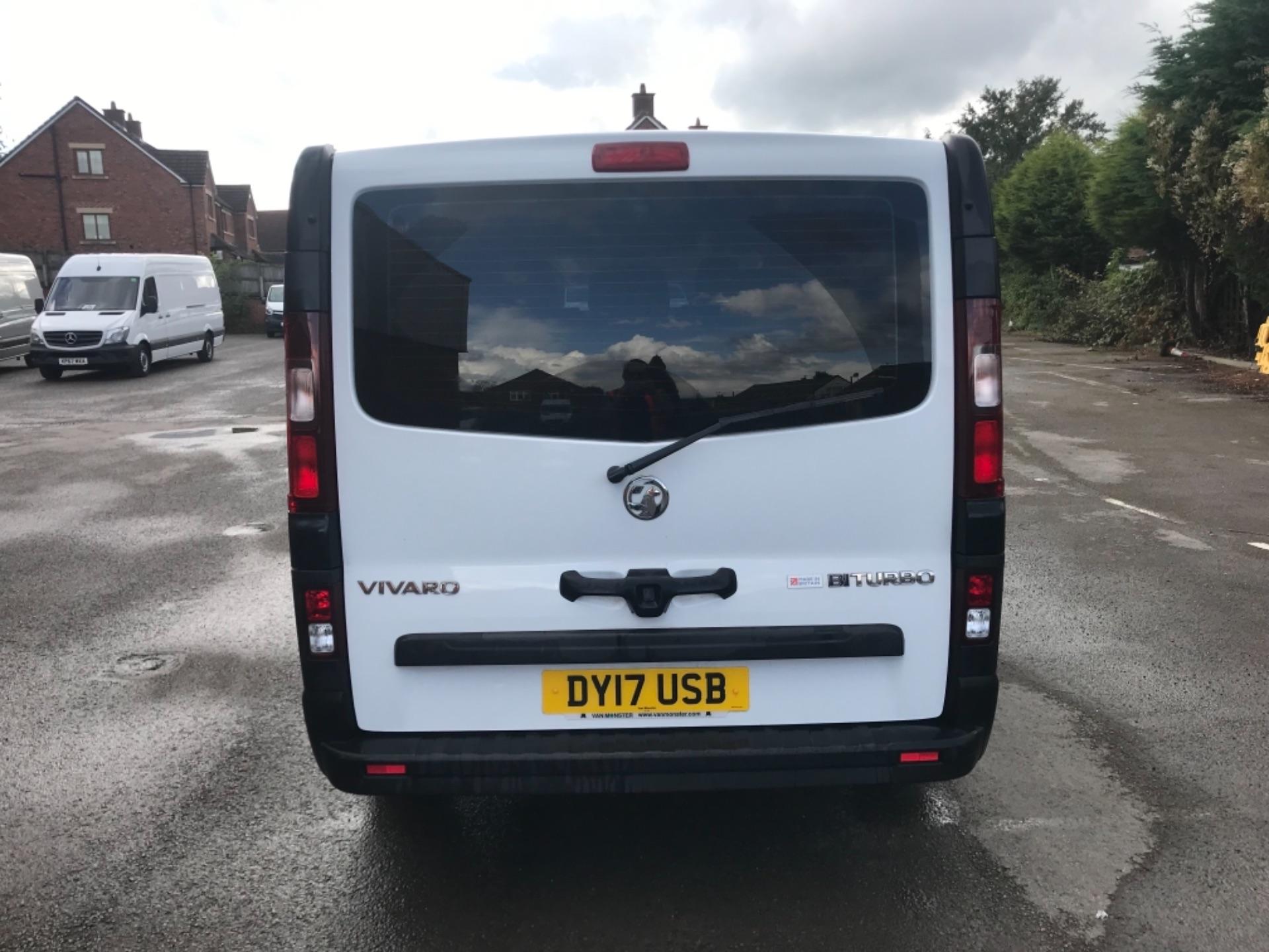2017 Vauxhall Vivaro 2900 1.6Cdti Biturbo 125Ps H1 Combi 9 Seat EURO 6  (DY17USB) Image 6