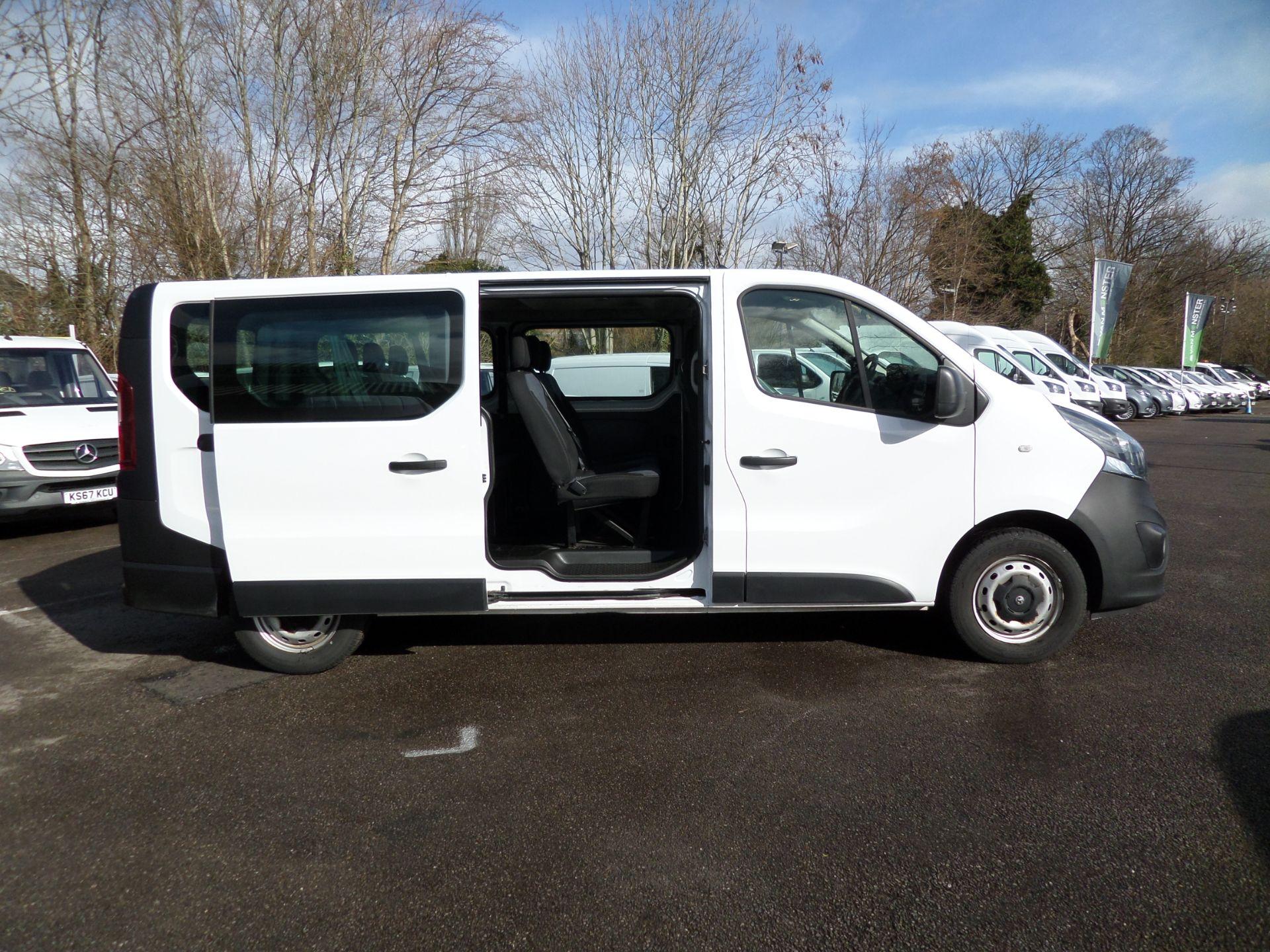 2017 Vauxhall Vivaro 2900 1.6Cdti Biturbo 125Ps H1 Combi 9 Seat (NO VAT) 70mph Limited (DY17UTV) Image 11
