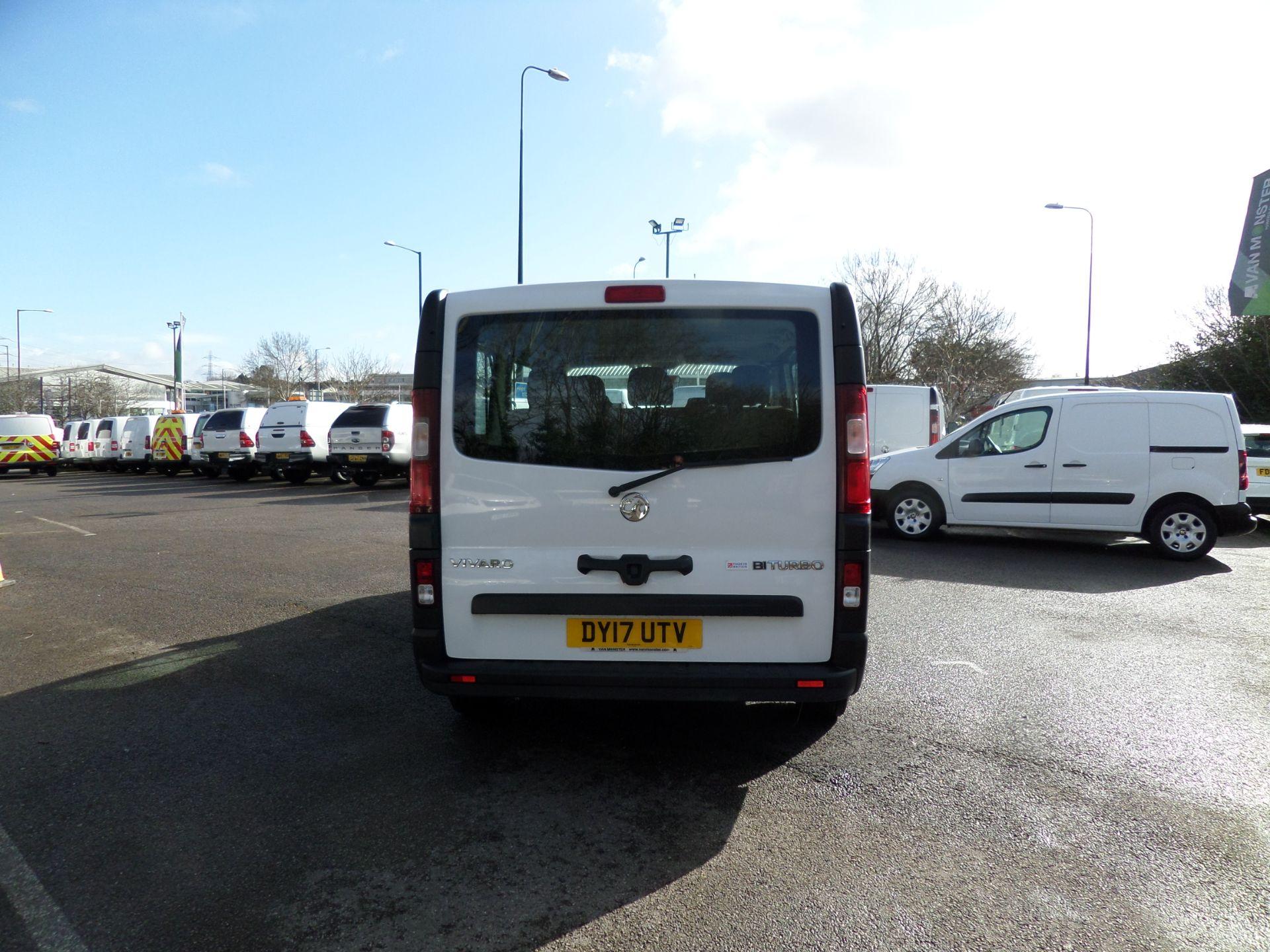 2017 Vauxhall Vivaro 2900 1.6Cdti Biturbo 125Ps H1 Combi 9 Seat (NO VAT) 70mph Limited (DY17UTV) Image 3