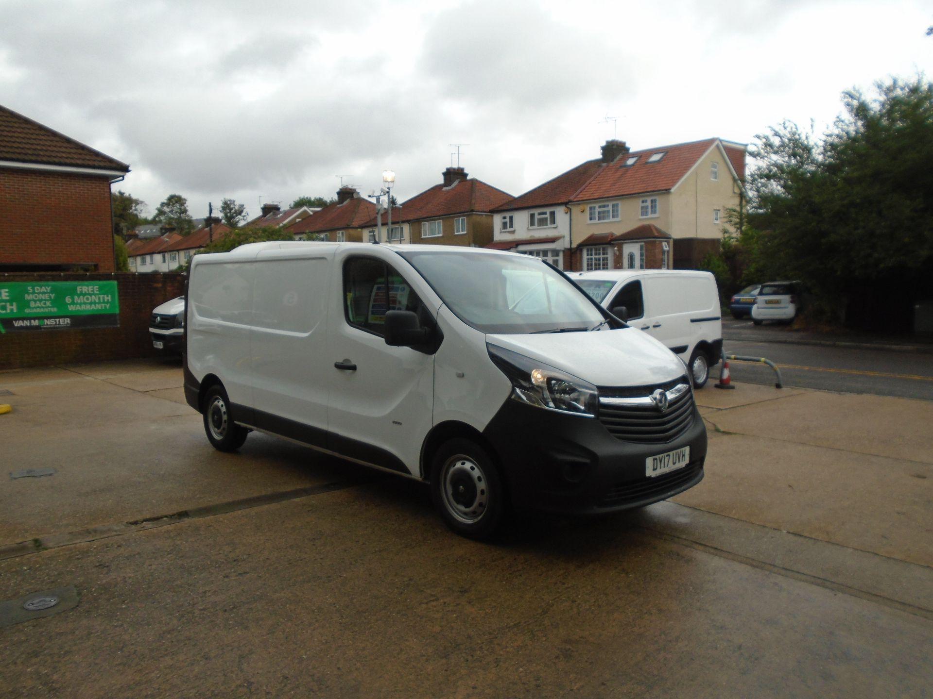 2017 Vauxhall Vivaro 2900 1.6Cdti 120Ps H1 Van(EURO 6) (DY17UVH)