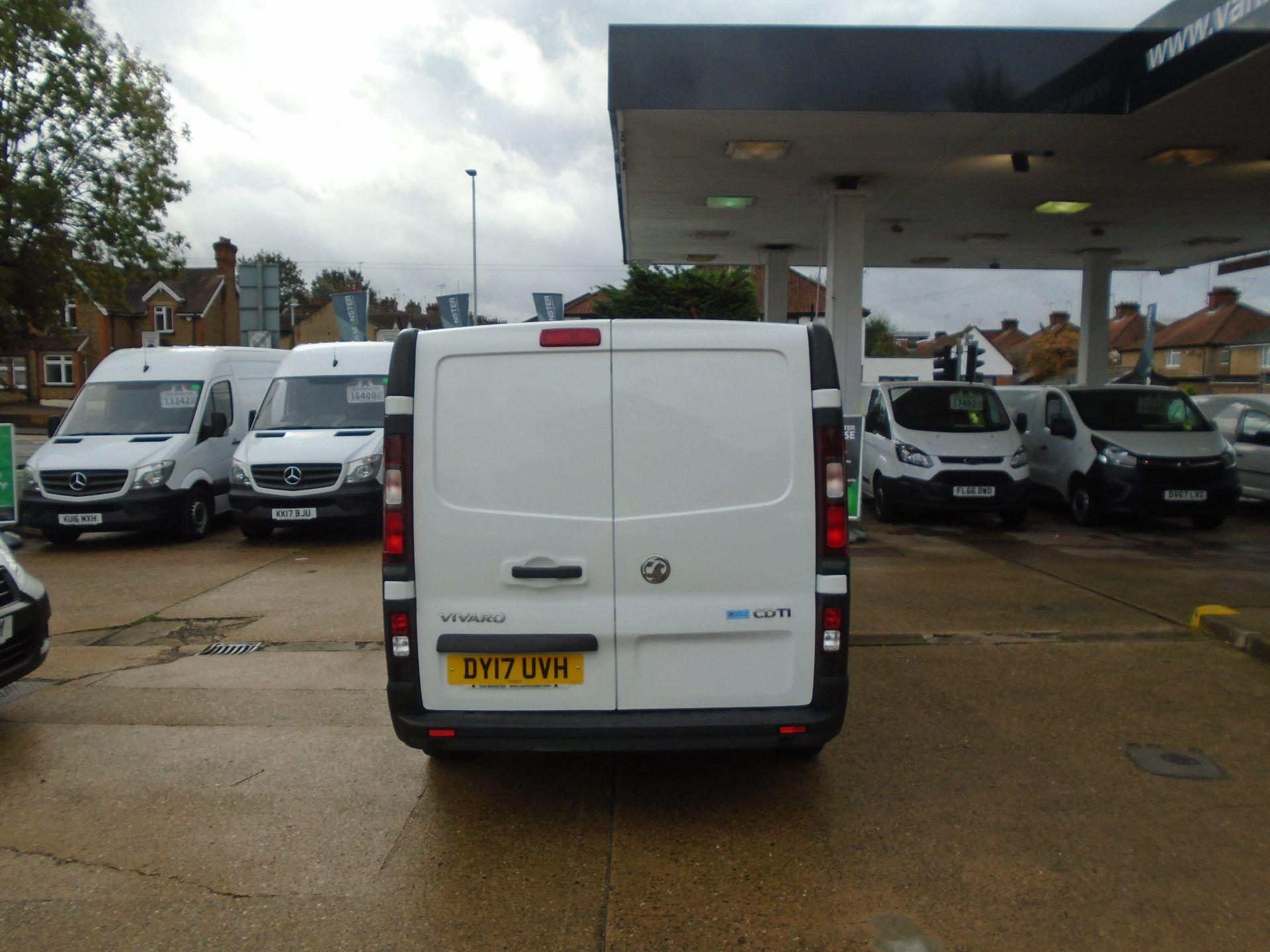 2017 Vauxhall Vivaro 2900 1.6Cdti 120Ps H1 Van(EURO 6) (DY17UVH) Image 4