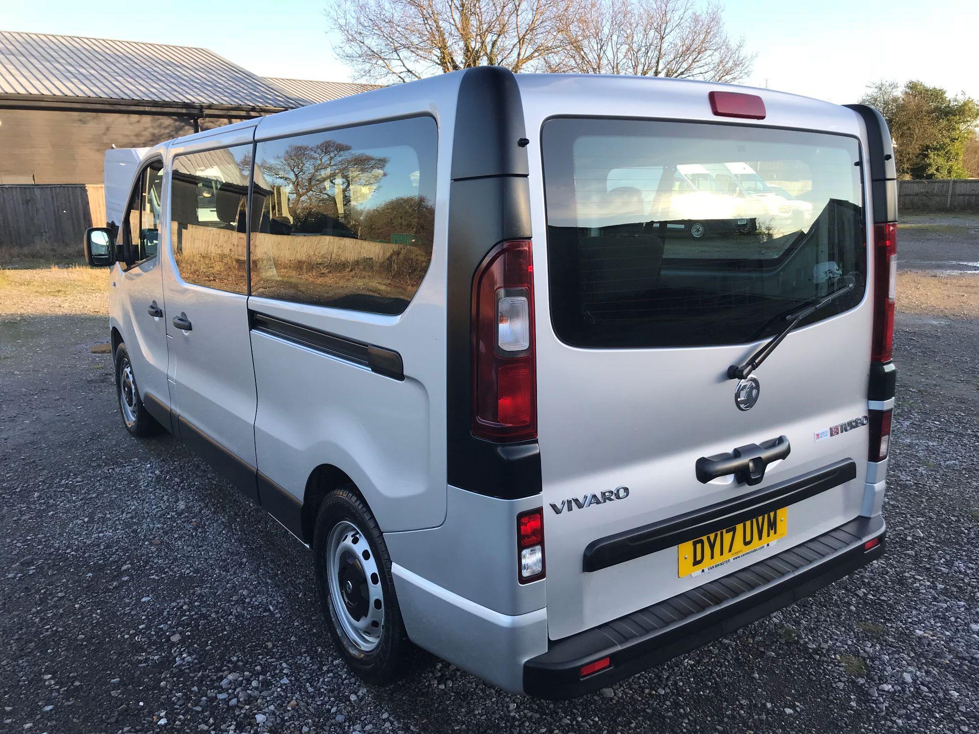 2017 Vauxhall Vivaro 2900 1.6Cdti Biturbo 125Ps H1 Combi 9 Seat (DY17UVM) Image 6