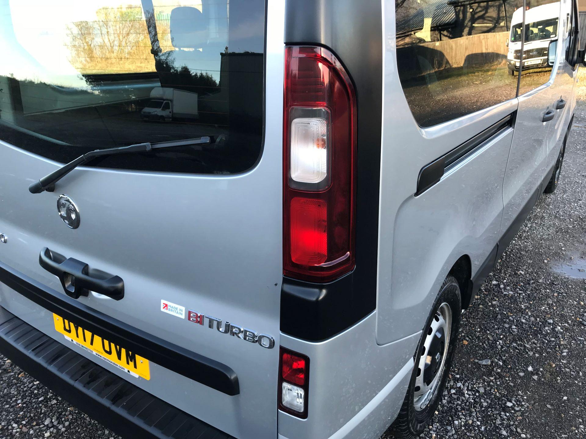 2017 Vauxhall Vivaro 2900 1.6Cdti Biturbo 125Ps H1 Combi 9 Seat (DY17UVM) Image 17
