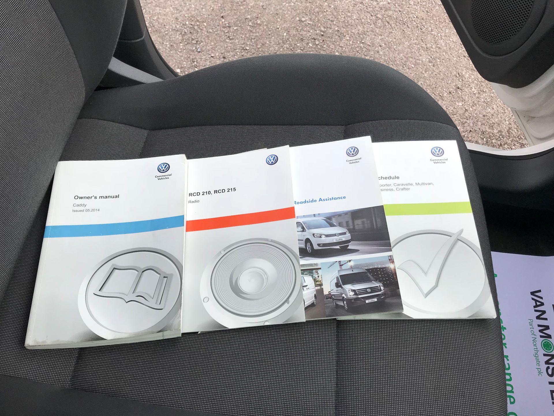 2014 Volkswagen Caddy   1.6 75PS   STARTLINE EURO 5 (DY64BUA) Image 24