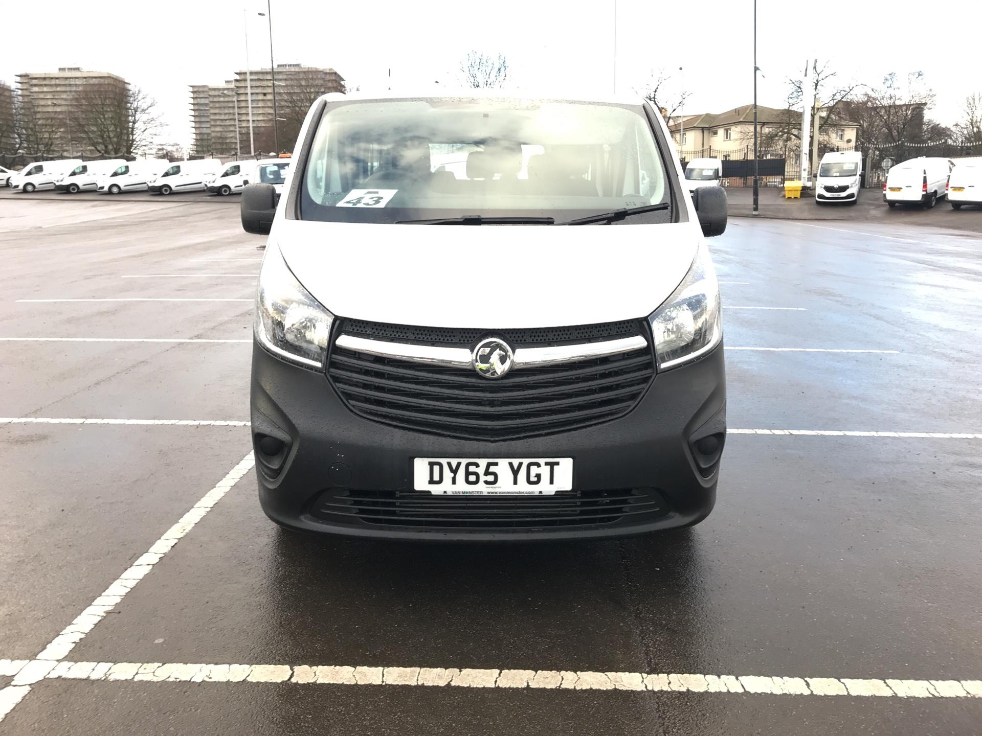 2015 Vauxhall Vivaro  L2 H1 2900 1.6 115PS COMBI 9 SEAT EURO 5. VAT INC (DY65YGT) Image 8