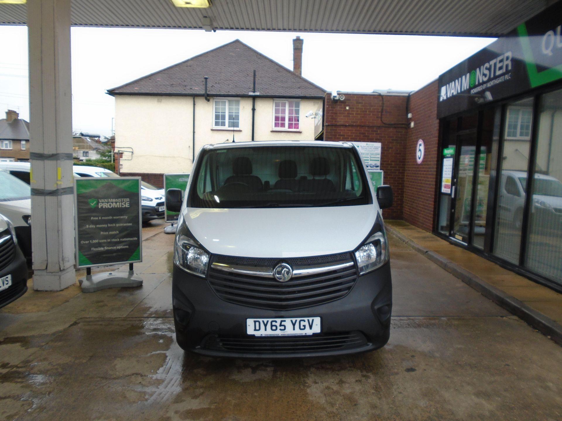 2015 Vauxhall Vivaro 2900 1.6Cdti 115Ps H1 Van(EURO 5) (DY65YGV) Image 2