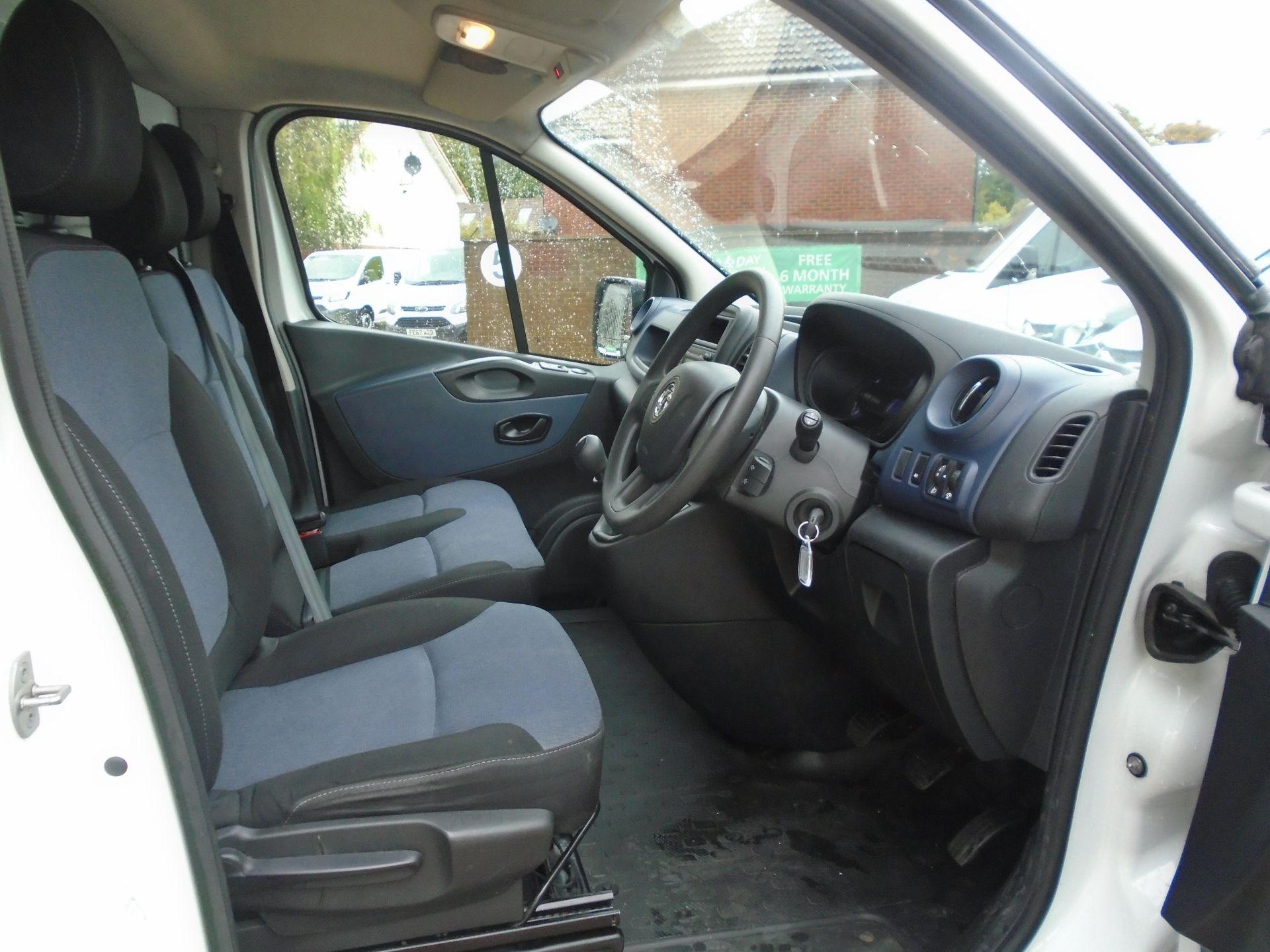 2015 Vauxhall Vivaro 2900 1.6Cdti 115Ps H1 Van(EURO 5) (DY65YGV) Image 10