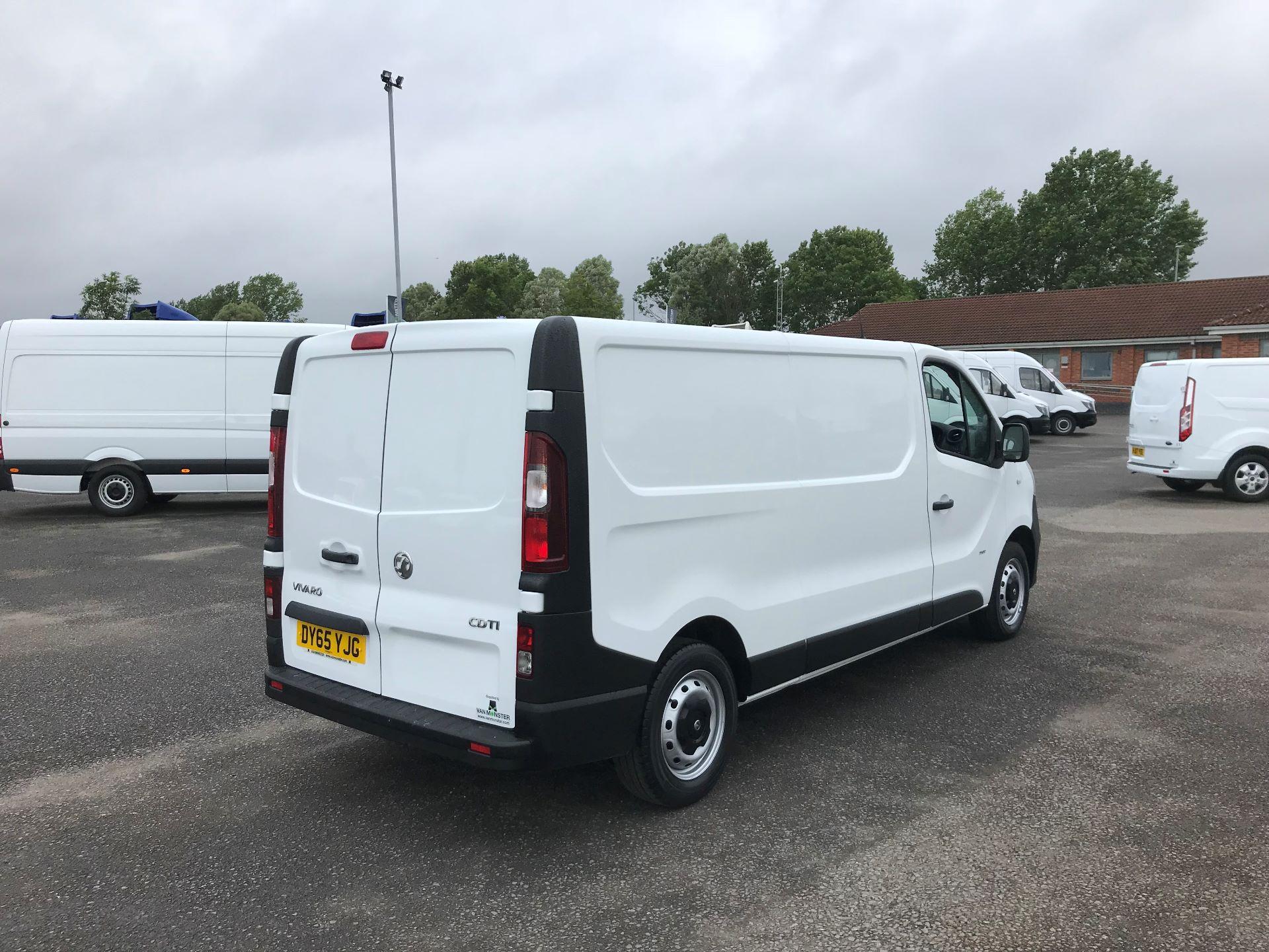2015 Vauxhall Vivaro 2900 1.6Cdti 115Ps H1 Van (DY65YJG) Image 4