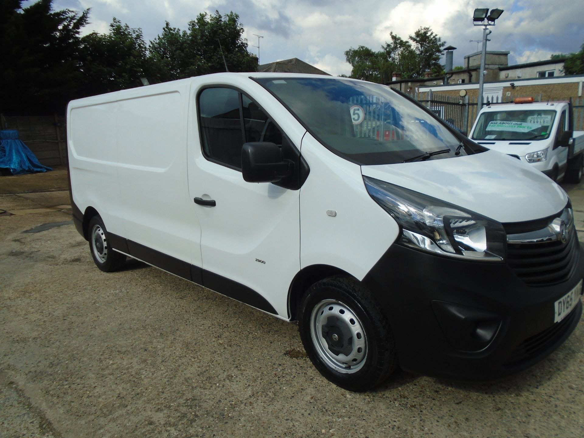 2015 Vauxhall Vivaro  L2 H1 2900 1.6 115PS EURO 5 *VALUE RANGE VEHICLE CONDITION REFLECTED IN PRICE* (DY65YME)