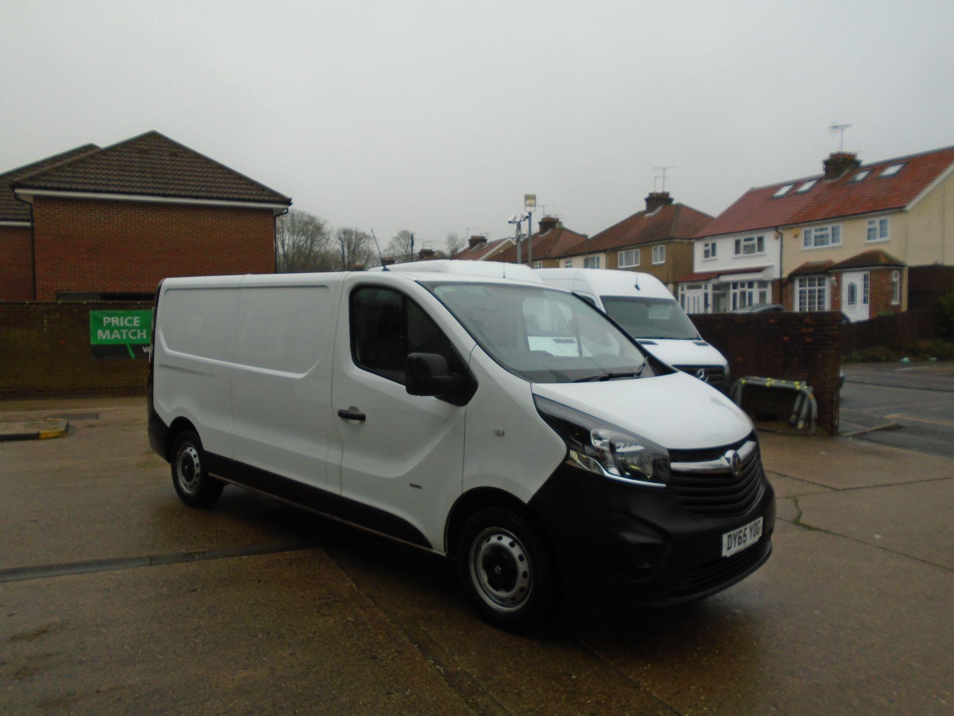 2015 Vauxhall Vivaro 2900 1.6Cdti 115Ps H1 Van(EURO5) (DY65YOG)