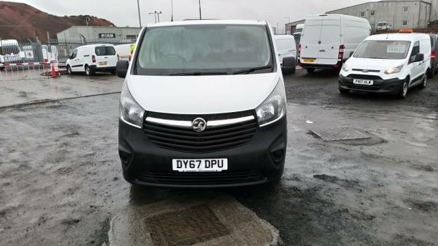2017 Vauxhall Vivaro 2900 1.6Cdti 120Ps H1 Van (DY67DPU) Image 6