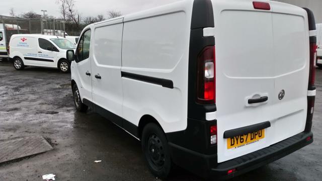 2017 Vauxhall Vivaro 2900 1.6Cdti 120Ps H1 Van (DY67DPU) Image 4