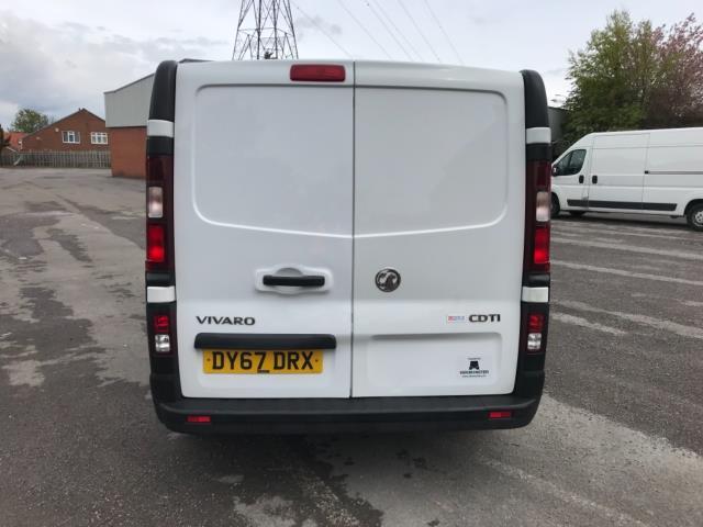 2017 Vauxhall Vivaro 2900 1.6Cdti 120Ps H1 Doublecab (DY67DRX) Image 6