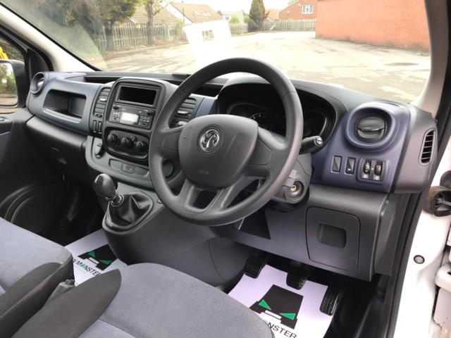2017 Vauxhall Vivaro 2900 1.6Cdti 120Ps H1 Doublecab (DY67DRX) Image 11