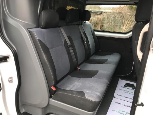 2017 Vauxhall Vivaro 2900 1.6Cdti 120Ps H1 Doublecab (DY67DRX) Image 34
